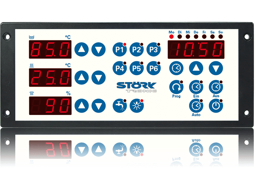 Störk-Tronic, split solution, control unit, bain-maries, control system, canteen kitchens.