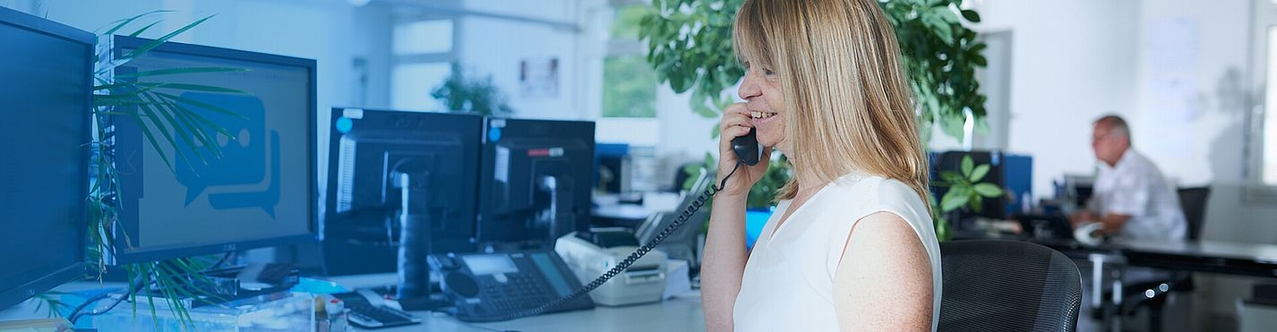 Störk-Tronic Service, technical customer service, call center, call service