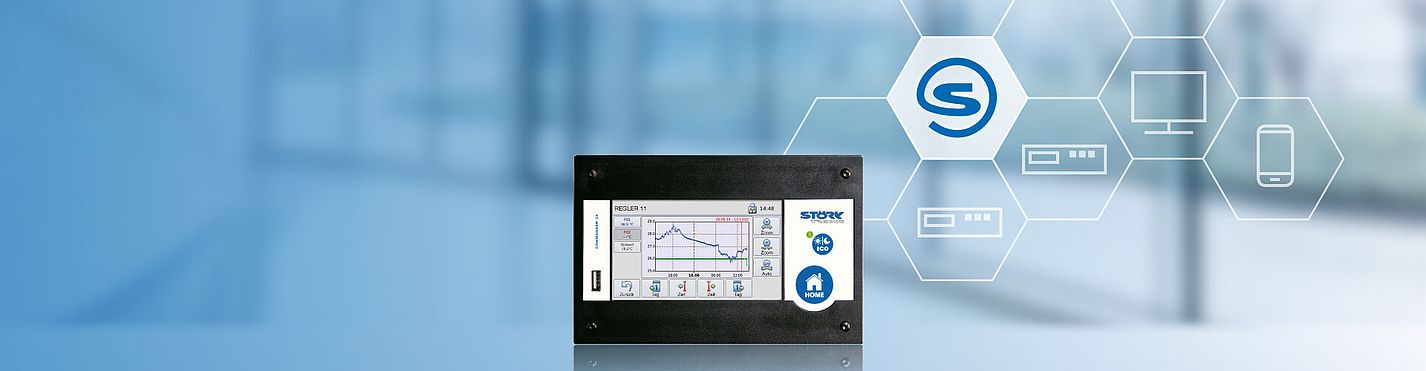 Störk-Tronic Commander, C43, connectivity, networking, remote maintenance, remote control, industry 4.0.