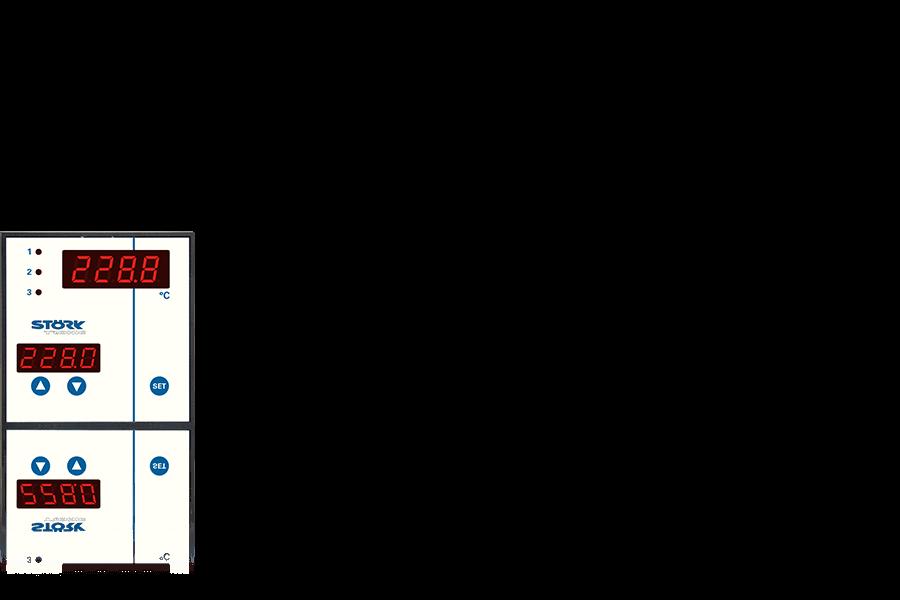 ST 96 Steuerung, Bedieneinheit, Backtechnik