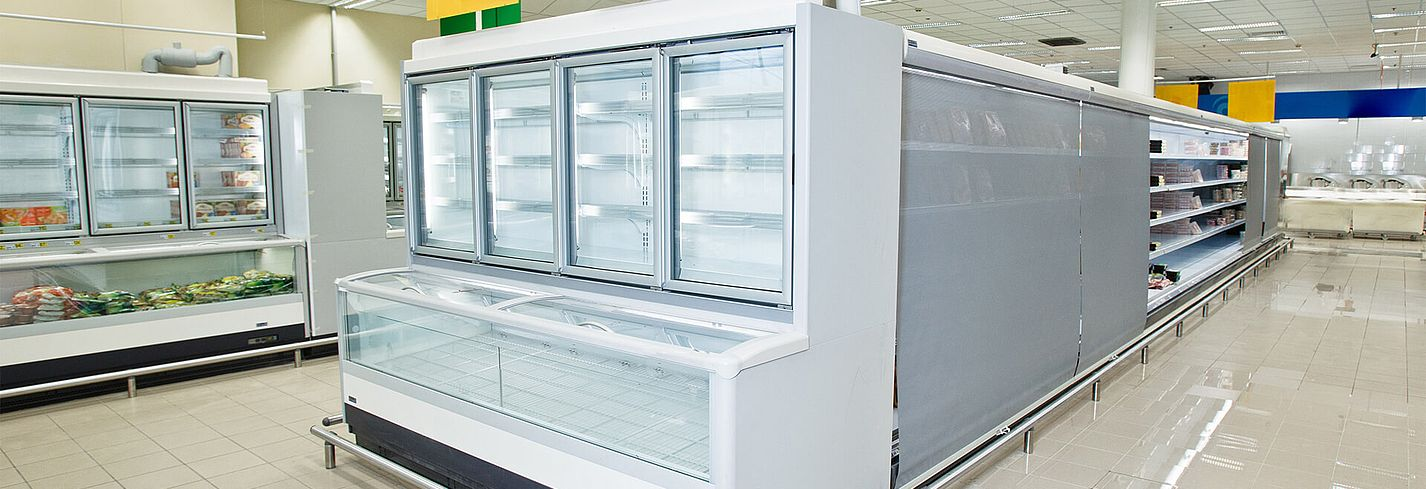 Störk-Tronic measuring and control technology, controllers, control units for refrigerated counters, refrigerated counters, supermarket refrigeration.