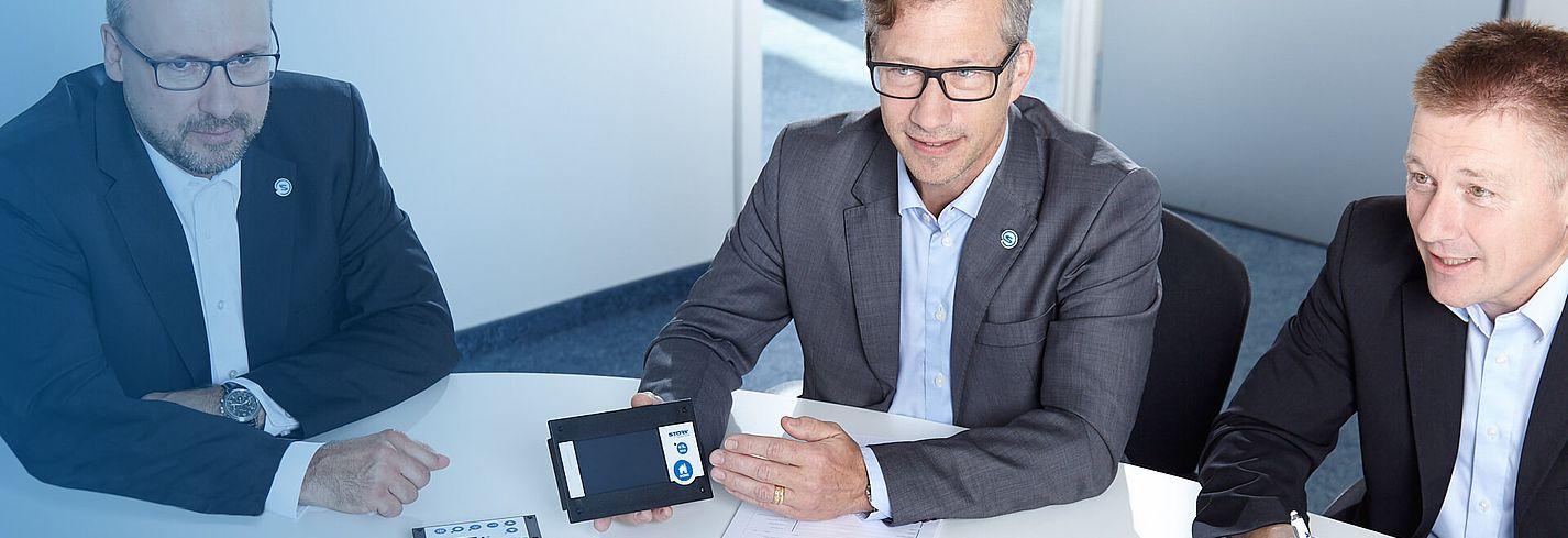 Försäljningsrepresentanter Teknisk rådgivning Störk-Tronic produkter mät- och styrteknik