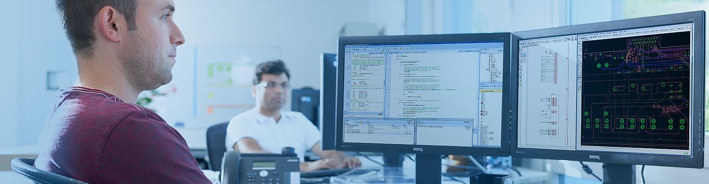 [Translate to Niederländisch:] Störk-Tronic Karriere, Entwicklung, Software, Hardware.