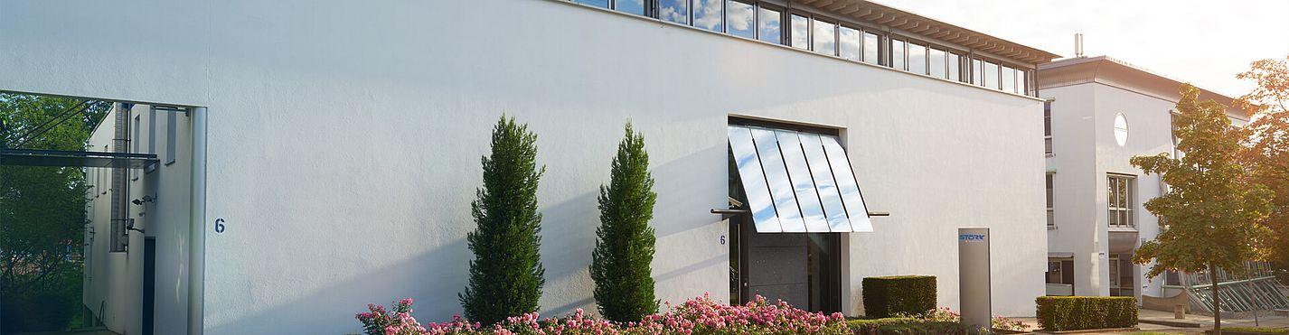 Störk-Tronic Firmengebäude, Zentrale, Kontakt, Stuttgart Vaihingen, Deutschland.