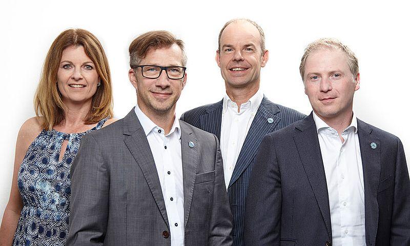 [Translate to Französisch:] Störk-Tronic, Historie, 2015 Tochtergesellschaft Störk-Tronic Niederlande, Egon Van Trier, Johan Lindau.