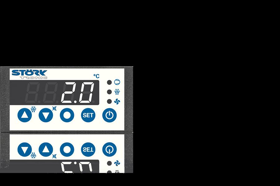 ST 710, Bedieneinheit, Steuerung, Regler, gewerbliche Kälte.
