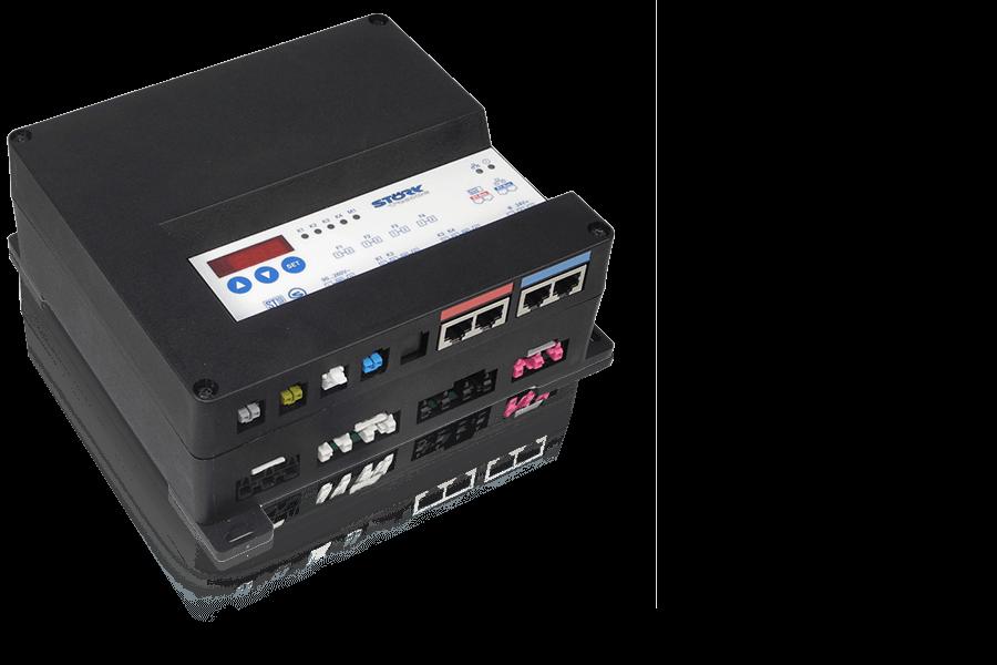Störk-Tronic ST-Box 200, Splitlösung, mittlere Anlagen, 7 Segment Anzeige.