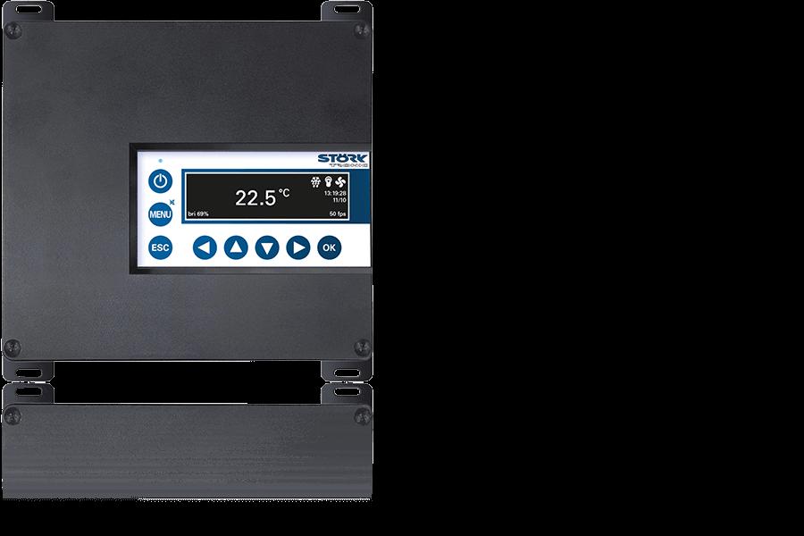 Störk-Tronic ST-Box 200, Splitlösung, mittlere Anlagen, OLED Anzeige.
