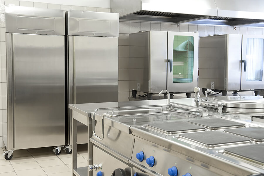 Störk-Tronic measuring and control technology, controllers, control units for canteen kitchens, professional canteens.