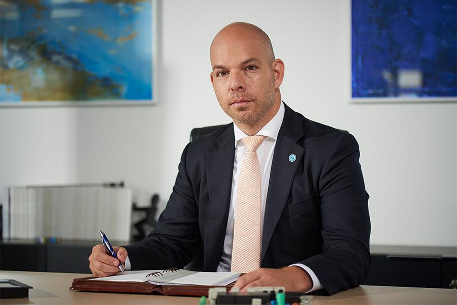 Störk-Tronic Geschäftsführer, Geschäftsleiter, CEO, Gabor Kleimann.
