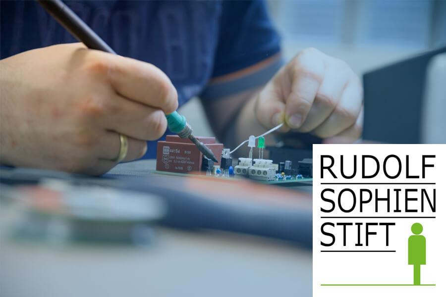 [Translate to Niederländisch:] Störk-Tronic soziale Verantwortung, Rudolf Sophien Stift, Caritas, Unterstützung.